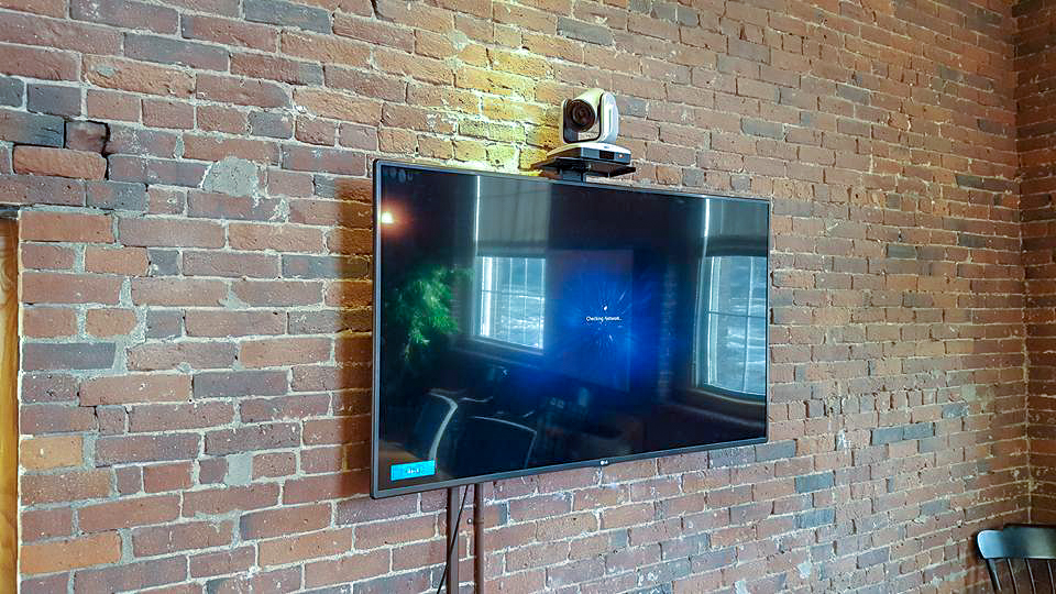conference room television